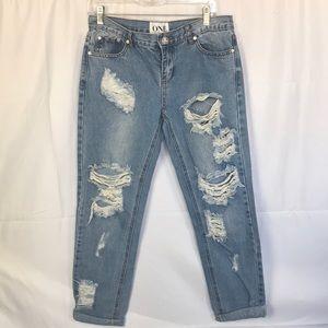 One by One Teaspoon Size 27 light blue Denim Jeans